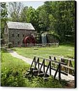 The Grist Mill Canvas Print by Lee Fortier