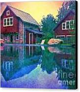 The Guest Cottage Canvas Print by Kevyn Bashore