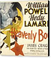The Heavenly Body, Hedy Lamarr, William Canvas Print by Everett