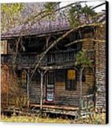 The Homestead Canvas Print by Joyce Kimble Smith