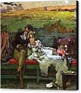 The Honeymoon Canvas Print