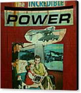 The Incredible Power Minor Canvas Print by Adam Kissel