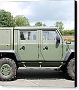 The Iveco Light Mulirole Vehicle Canvas Print