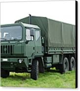 The Iveco M250 Used By The Belgian Army Canvas Print