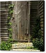 The Ivied Door Canvas Print