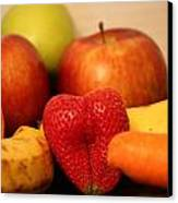 The Joy Of Fruit In The Morning Canvas Print by Andrea Nicosia