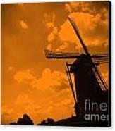 The Land Of Orange Canvas Print by Carol Groenen