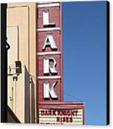 The Lark Theater In Larkspur California - 5d18490 Canvas Print