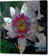The Light From Within Canvas Print by Cheri Doyle