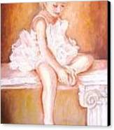 The Little Ballerina Canvas Print