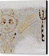 The Little Devil Canvas Print by Odon Czintos