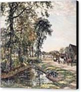 The Manor Farm Canvas Print