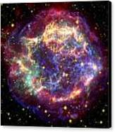 The Many Sides Of The Supernova Remnant Canvas Print by Nasa