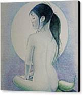 The Mermaid 1 Canvas Print by Tim Ernst