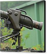 The Milan, Guided Anti-tank Missile Canvas Print