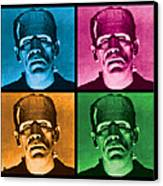 The Monster X 4 Canvas Print by Gary Grayson