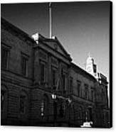 The National Archives Of Scotland General Register House Edinburgh Scotland Uk United Kingdom Canvas Print