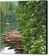 The Neckar River Canvas Print