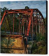 The Old Brooklyn Bridge Canvas Print