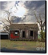 The Old Farm House In My Dreams Canvas Print