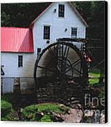 The Old Mill 1886 In Cherokee North Carolina Canvas Print