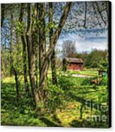 The Old River Shed Canvas Print