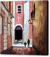 The Open Door Canvas Print by Anthony Falbo