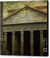 The Pantheon's Curse Canvas Print