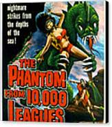 The Phantom From 10,000 Leagues, Poster Canvas Print by Everett