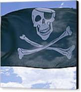 The Pirate Flag Known As The Jolly Canvas Print