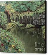 The Pond Canvas Print by Jim Barber Hove