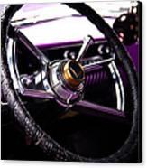 The Purple 1950 Mercury Canvas Print by David Patterson