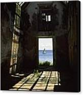 The Ruin Of A Slave Warehouse Dating Canvas Print
