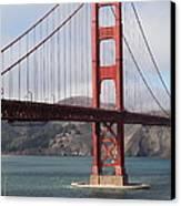 The San Francisco Golden Gate Bridge - 5d18911 Canvas Print