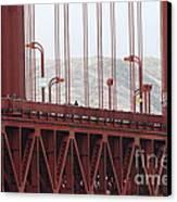 The San Francisco Golden Gate Bridge - 7d19060 Canvas Print
