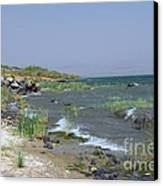 The Sea Of Galilee Canvas Print by Eva Kaufman