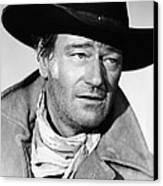 The Searchers, John Wayne, 1956 Canvas Print by Everett