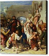 The Seven Ages Of Man Canvas Print by William Mulready