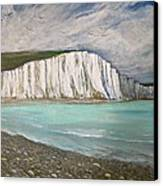 The Seven Sisters Canvas Print by Heather Matthews