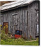 The Shed Canvas Print by Steve Harrington