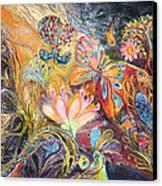 The Shining Of The Orange Tree Canvas Print