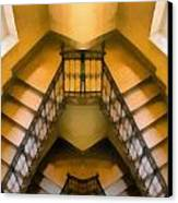 The Staircase Reflection Canvas Print