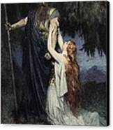 The Stories Of Wagner's Operas Canvas Print by  J Walker McSpadden