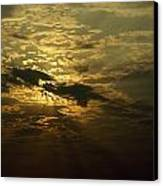 The Sun Obscured By A Late Afternoon Canvas Print