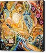 The Sunrise ... Visit Www.elenakotliarker.com Canvas Print by Elena Kotliarker