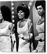 The Supremes Florence Ballard, Diana Canvas Print by Everett