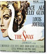 The Swan, Grace Kelly, 1956 Canvas Print