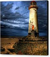 The Talacre Lighthouse Canvas Print