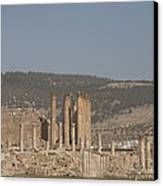 The Temple Of Artemis In The Ruins Canvas Print
