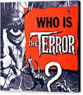 The Terror, Boris Karloff On 1 Sheet Canvas Print